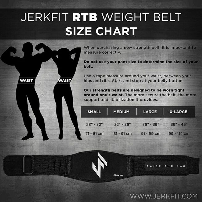 Jerkfit RTB Weight Belt-SMALL