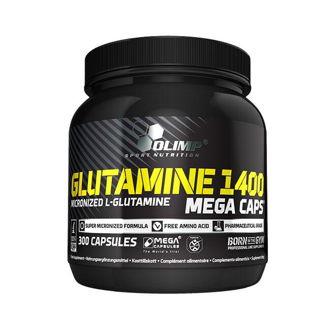 Glutamine Mega Caps 1400, 300 caps