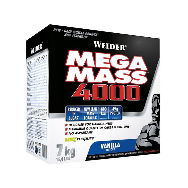 Mega Mass 4000, 7 kg, Vanilj