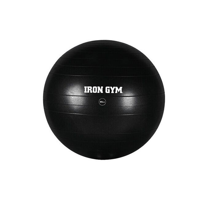 Iron Gym Essential Exercise Ball 55cm and Pump