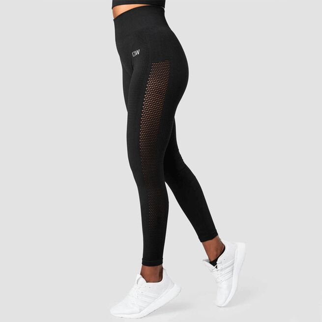 ICIW Dynamic Seamless Tights Black