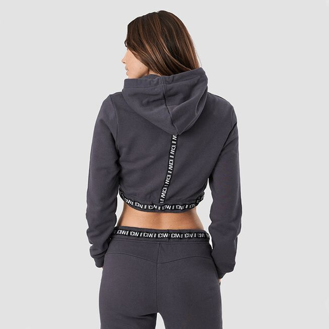 ICIW Chill Out Cropped Hoodie Graphite