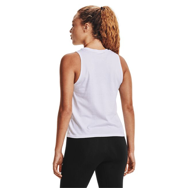 Under Armour Live UA Repeat Muscle Tank White