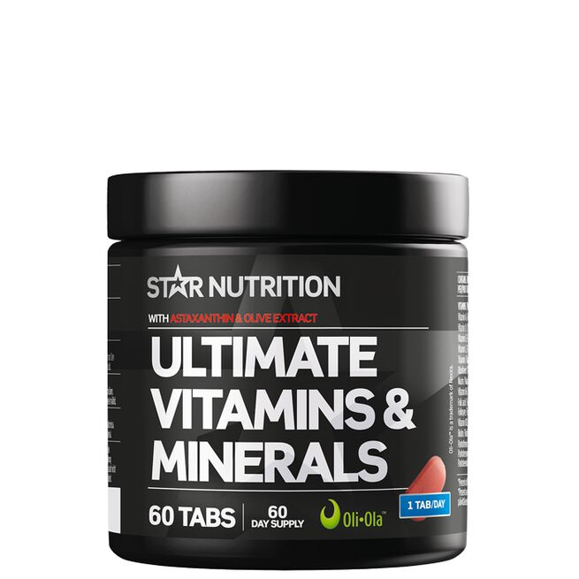 Star Nutrition Ultimare vitamins minerals