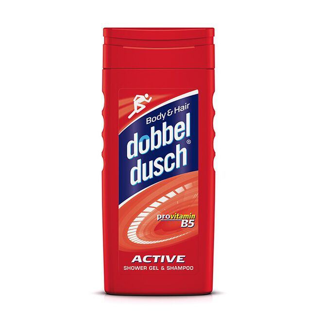 Dubbeldusch, 250ml, Active