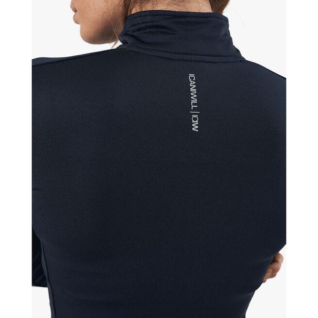Outdoor Training Fleece, Petrol Blue, XS