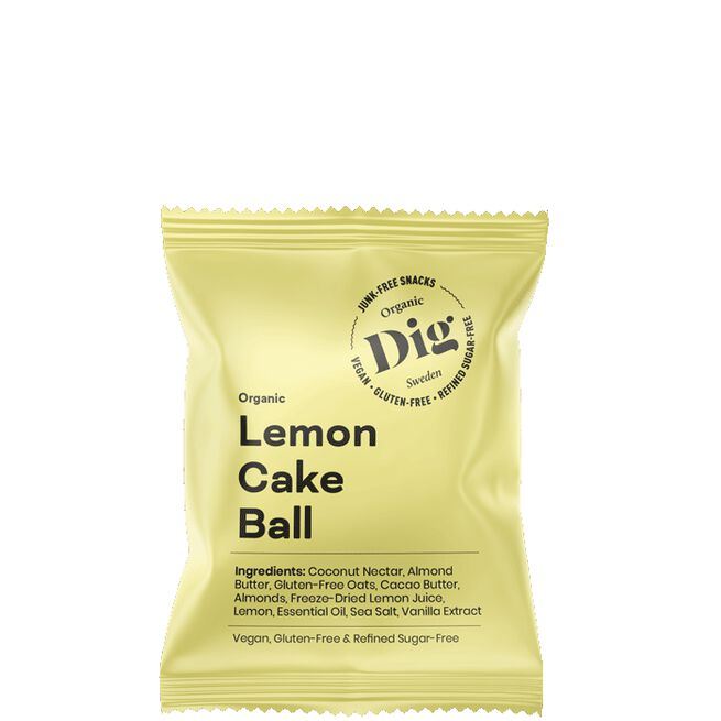 Get Raw Organic Ball Lemon Cake
