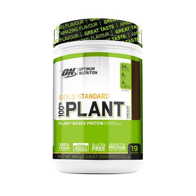 Gold Standard 100% Plant, 684 g, Chocolate