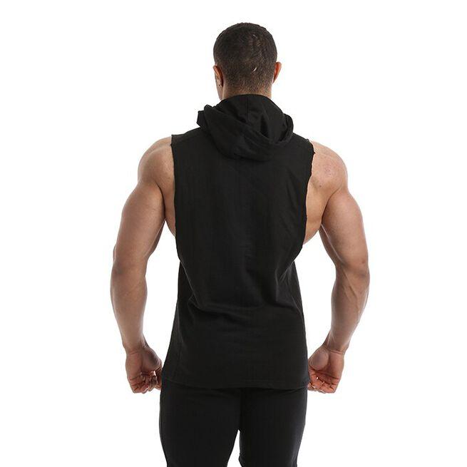 Golds Gym Drop Armhole Sweat, Black