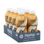 8 x ProPud Protein Milkshake, 330 ml, Cappuccino
