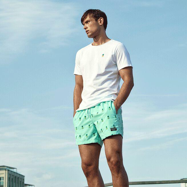 Björn Borg santiago swim shorts BB pineapple mint