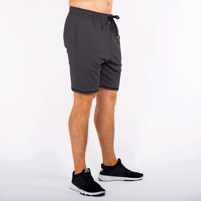 Star Premium Function Shorts, Black Melange, Men, S