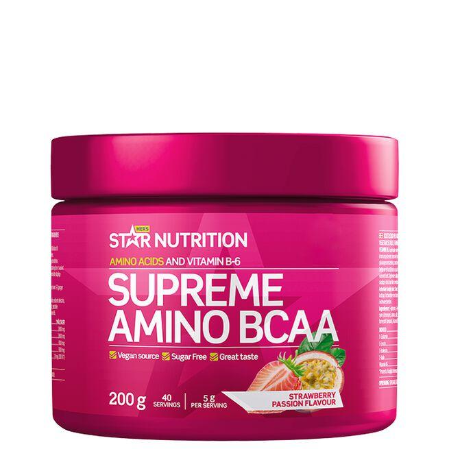 Star nutrition Supreme Amino BCAA Strawberry passion