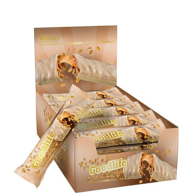 12 x Goodlife Deluxe, White Chocolate Caramel Peanut, 60 g