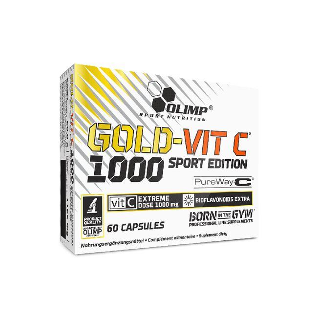 Gold-Vit C 1000 Sport Edition, 60 caps