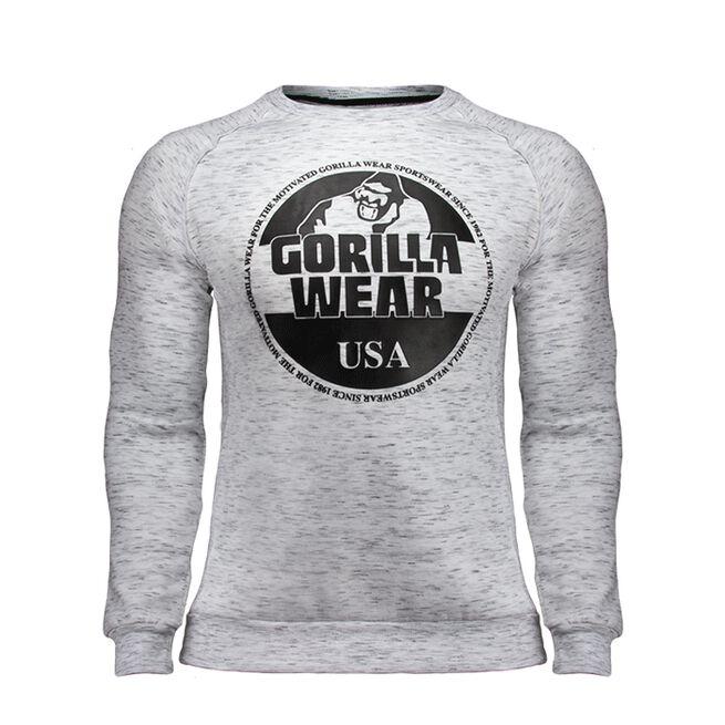 Bloomington Crewneck Sweatshirt, Grey, L