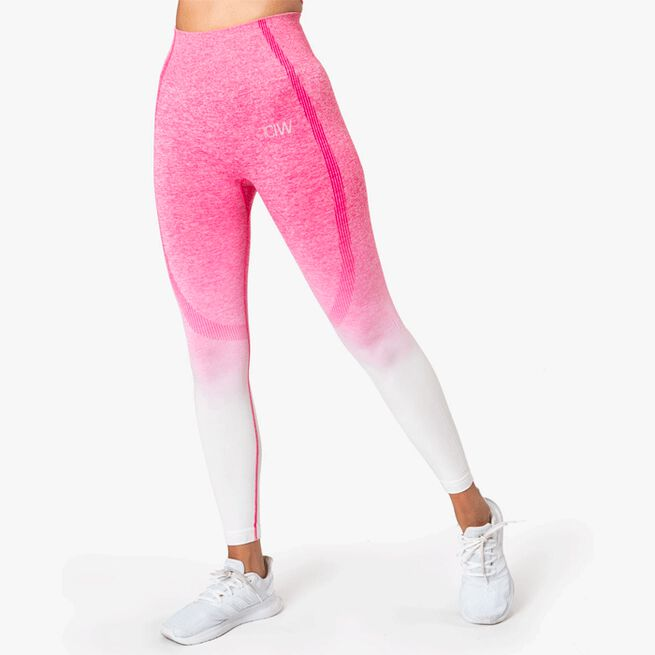 ICIW Ombre 7/8 Seamless Tights Perfection Pink