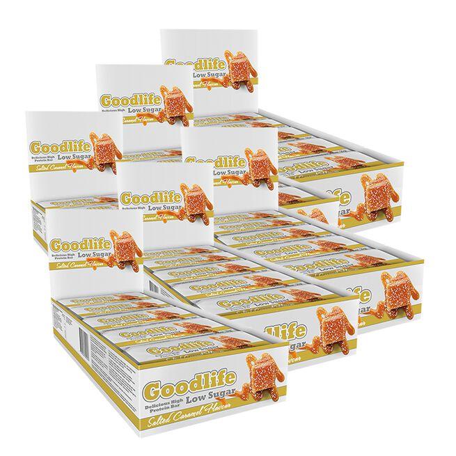 90 x Goodlife Low Sugar, 50 g BIG BUY, Proteinbars