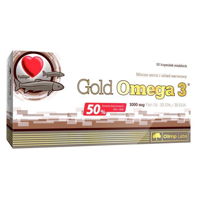 Omega 3 Gold, 1000 mg, 60 caps