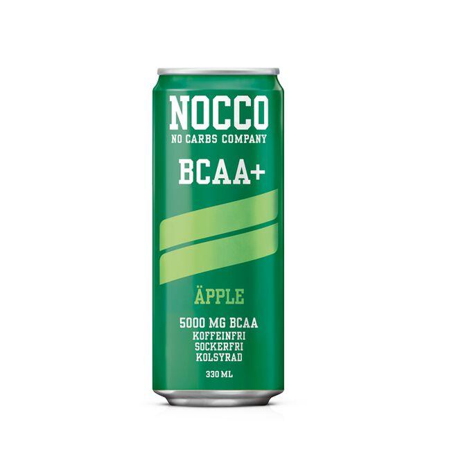 NOCCO BCAA+, 330 ml, Äpple
