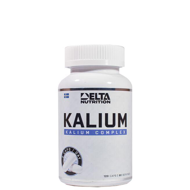 Delta Nutrition Kalium, 120 caps