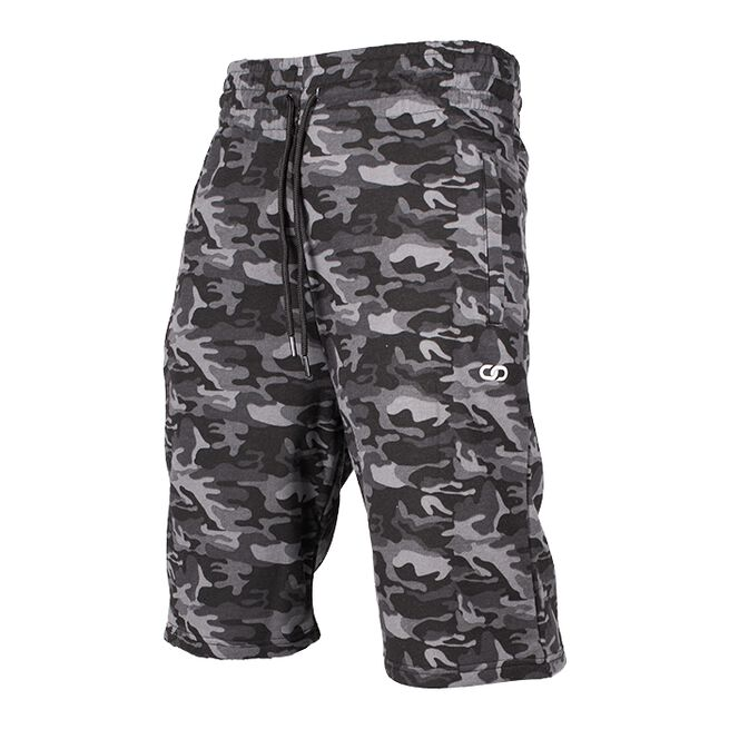 Chained Shorts, Black Camo, M