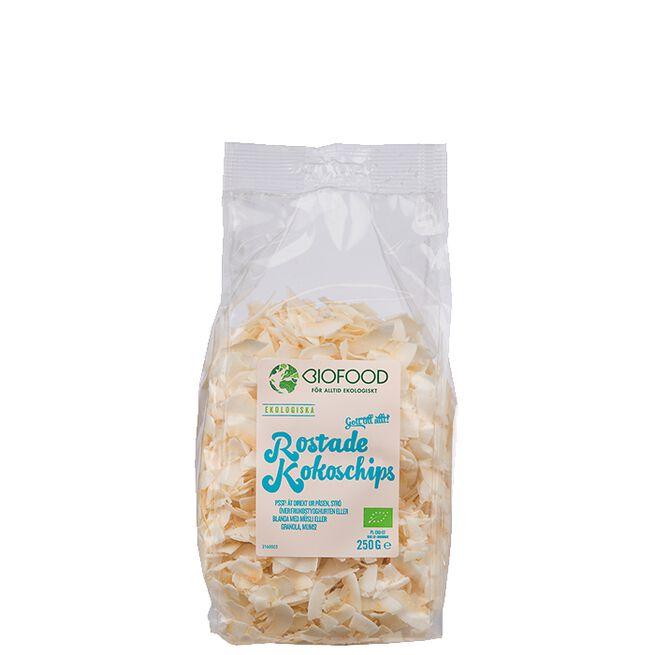 Rostade Kokoschips Biofood