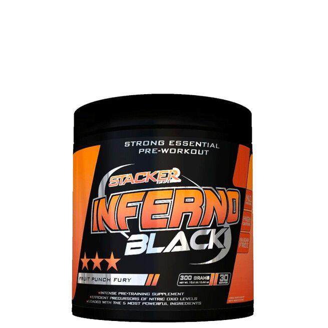 Inferno Black, 300 g, Fruit Punch Fury