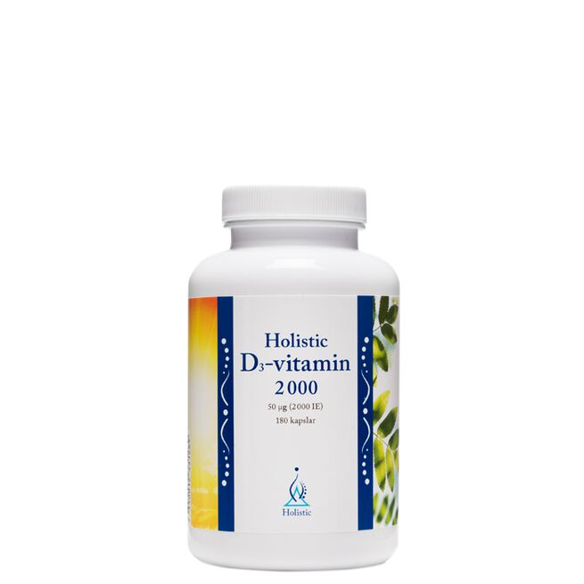 D3-vitamin 2000 IE, 180 kapslar