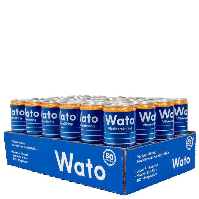 24 x Wato Vätskeersättning, 330 ml, Apelsin