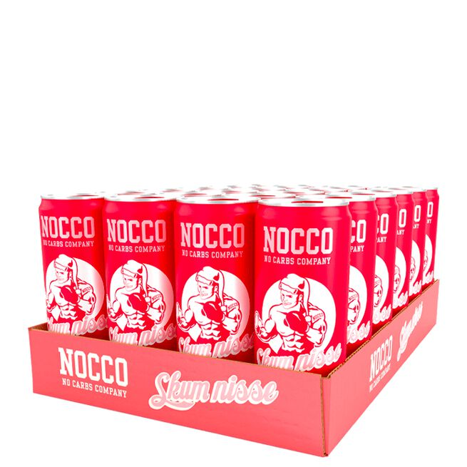 24 x NOCCO BCAA, 330 ml, Christmas Edition, Skum Nisse