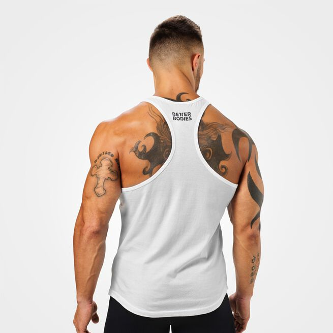 Essential T-back, white