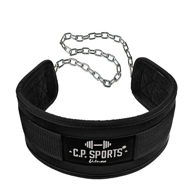 CP sports Dip Belt, Black, One Size