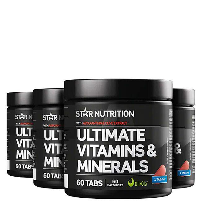 Star nutrition Ultimate vitamin minerals