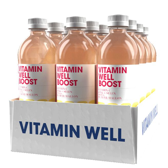 12 x Vitamin Well, 500ml, Boost