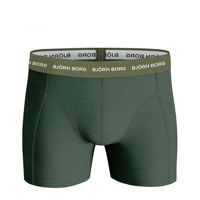 Björn Borg 3 Pack BB Nordic Camo Sammy Shorts Duck Green
