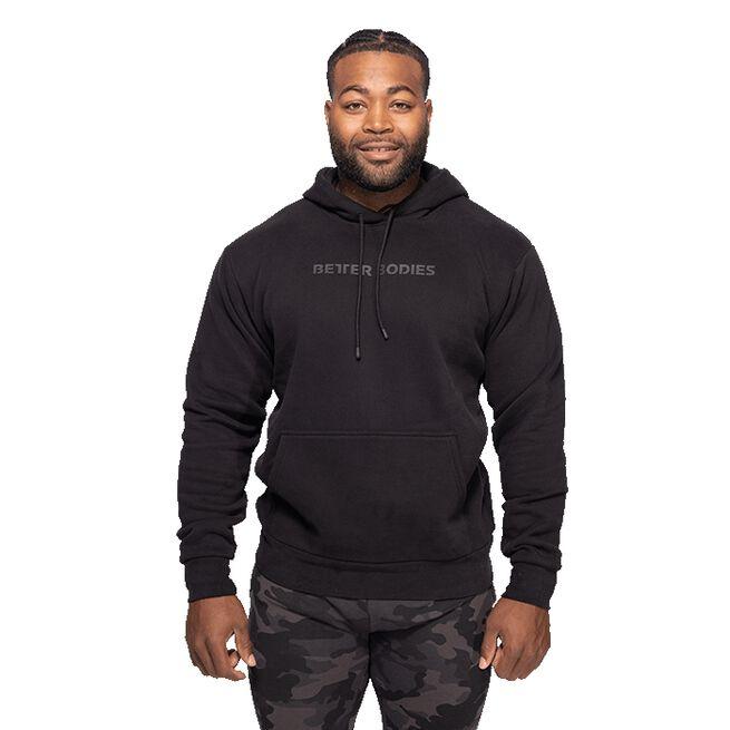 Better Bodies Logo Hoodie, Black