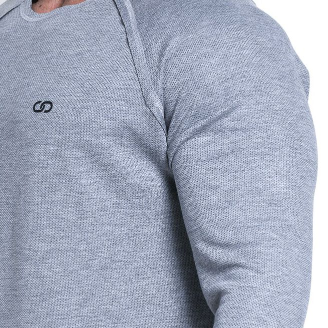 Chained L/S Thermal Sweat, Light Grey Melange, M