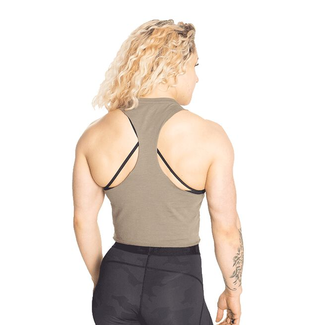 Fluid Loose Racerback, Washed Green, S