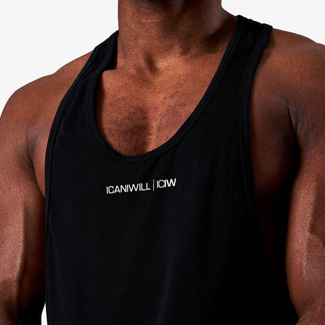 Training Muscle Tank Top, Black, S