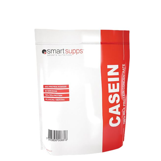 SmartSupps Casein, 2 kg, vanilj