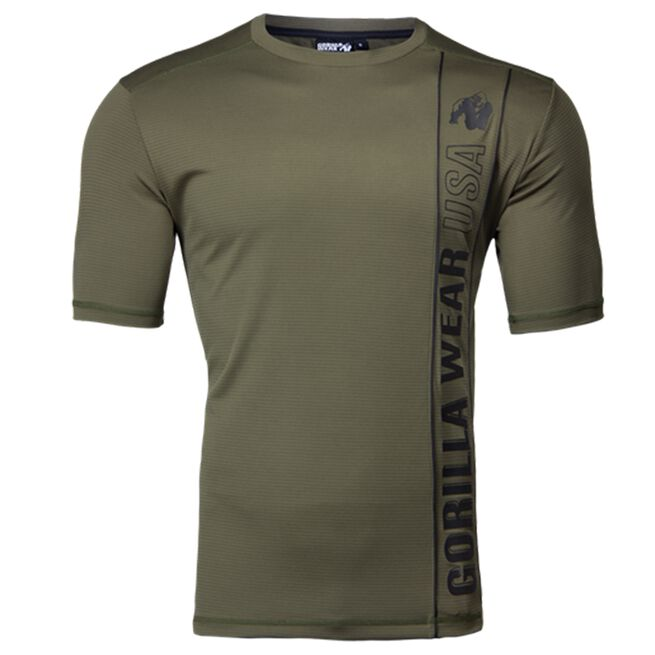 Branson T-Shirt, Army Green/Black, L