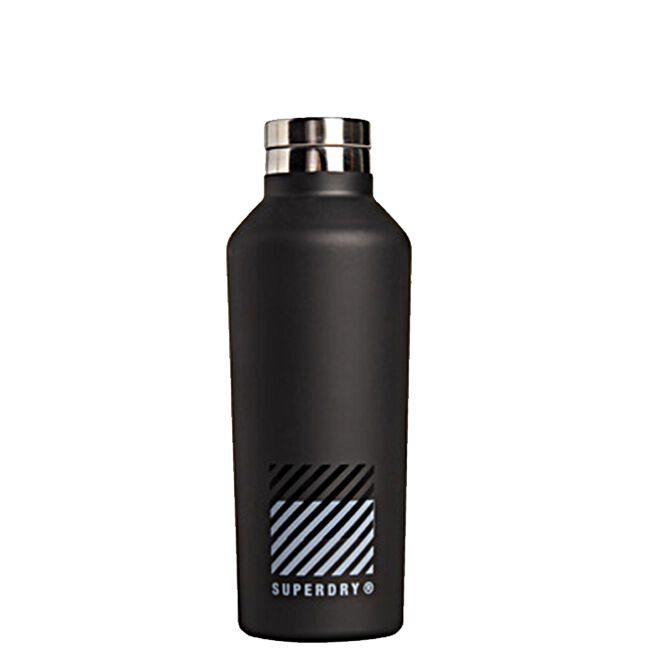 Superdry Training Steel Bottle Black