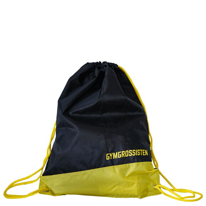 Gymgrossisten Stringbag, Black/Yellow