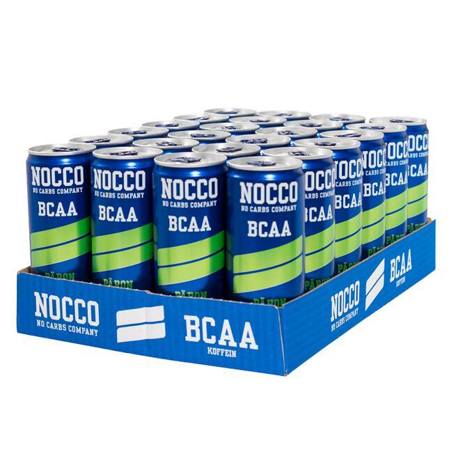 24 x NOCCO BCAA, 330 ml, Päron