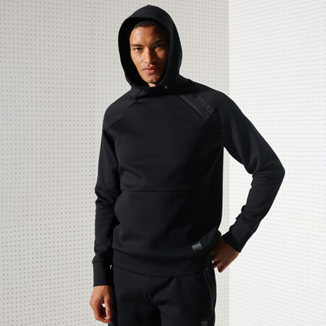 Superdry Training Gymtech Hood Black