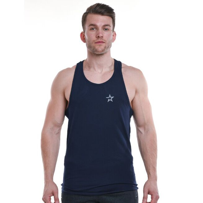 Star Nutrition Tank Top, Navy Blue, S