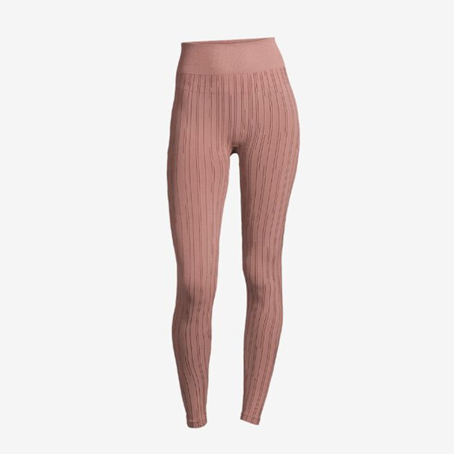 Seamless Line Tights, Trigger Pink, M
