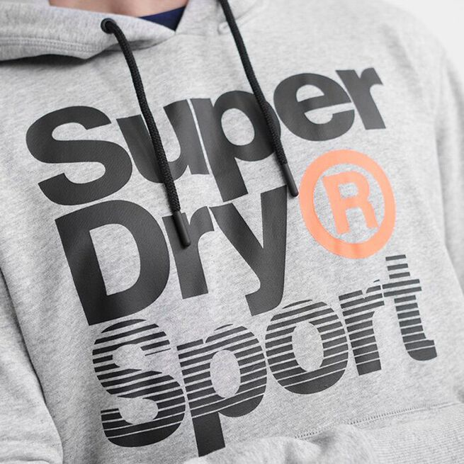Core Sport Overhead, Grey Marl, S