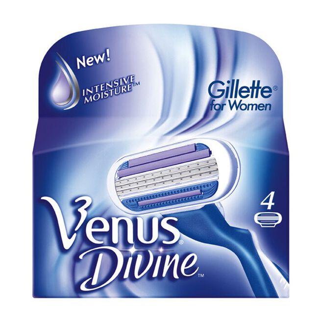 Gillette Blades Female Venus Divine, 4 Pack
